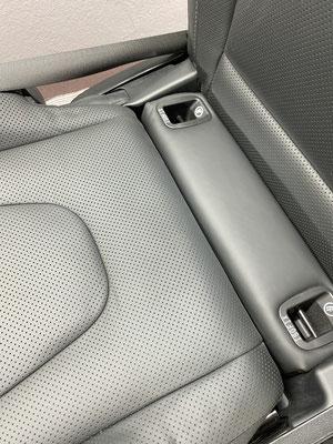 Mercedes V-Klasse - Zustand nach der Reparatur. Die Beschädigung ist nahezu unsichtbar geworden.
