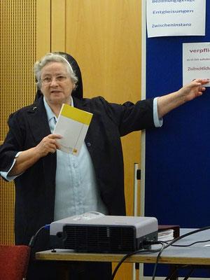 Moderatorin Sr. Ingrid Geissler CPS