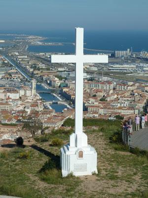 le mont saint clair à Sète