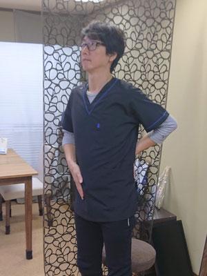 骨盤と腰 横