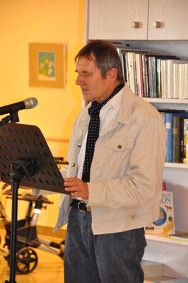 Dr. Christoph Schubert-Weller, Poet, Germanist und Schriftsteller