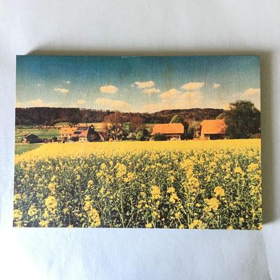 Holztafel glatte Ausführung mit Fotodruck