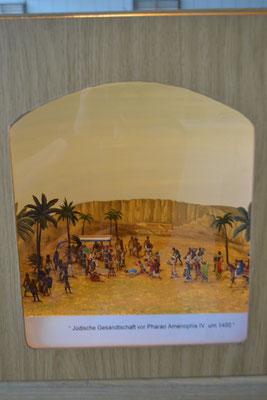 Jüdische Gesandtschaft vor Pharao Amenophis IV 1400 v. Chr