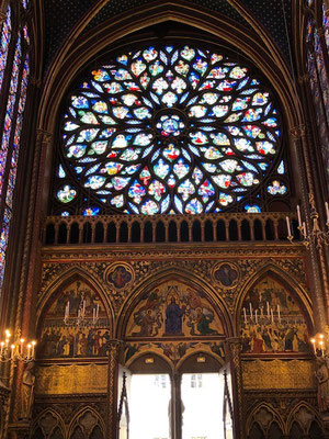 Private tour guide Sainte chapelle paris