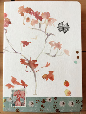 Ikebana 1, aquarelle VENDU