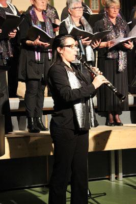 Pino an der Klarinette