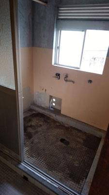 遺品整理お風呂場の様子