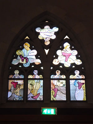 Stevenskerk glas-in-lood-raam Stigmata