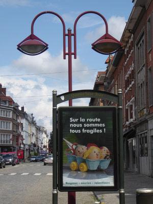 Tournai - In het Quartier Saint Brice gaat het over de kwetsbare mensheid