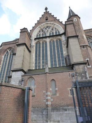 Stevenskerk - kopkant van het noordertransept.