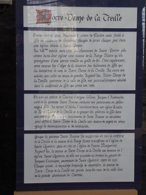 Doornik - Sint-Kwintenskerk - Notre-Dame de la Treille