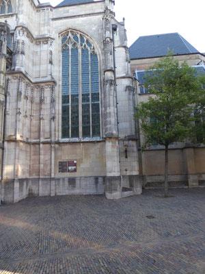 Stevenskerk - zuidoosthoek zuidertransept