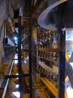 Doornik - Belfort - Klokken van het carillon