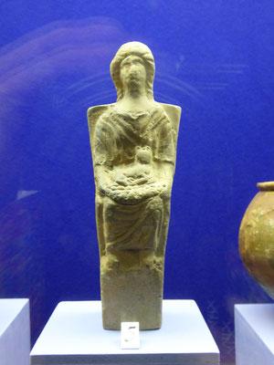 Doornik - Musée d'Archeologie - Romeins of inheems godinnenbeeldje