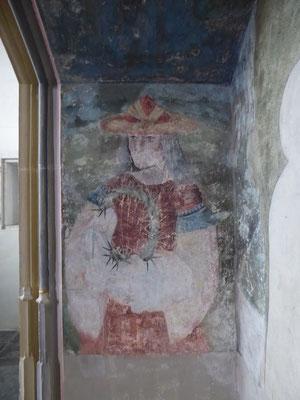 Oostelijke zijwand van de grote nis - Nicodemus met de doornenkroon.