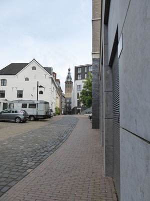 Van de Stevenskerk af over de Hessenberg.