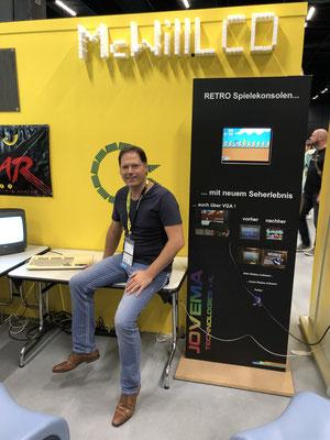 In Sonderfolge #12 des Männerquatsch Podcast berichten wir aus der Retro Area von der Gamescom 2019 und sprechen u.a mit Marco Willig (McWill LCD Mods).