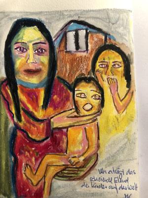 Wer erträgt das schreiende Elend der Kinder auf der Welt