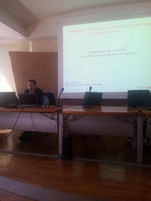 Dott.Ing. Odoacre Oriani  Sales Manager Italia -Zehnder Group Italia