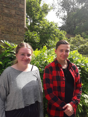 Nora Kunz (Outgoing 2019), Yannik Santos (Outgoing 2019). This week we welcome two apprentice librarians from Switzerland.  Yannik and Nora will be working in the Education Library and the Sainsbury Library at the Said Business School.