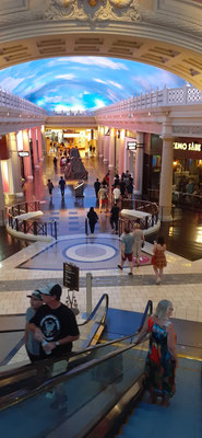 Im Caesar's Palace vonLas Vegas.....