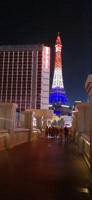 Der Eiffelturm ist in Las Vegas ebenso vertreten wie...