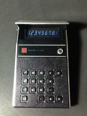 シャープの電卓