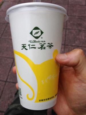 タピオカ茶