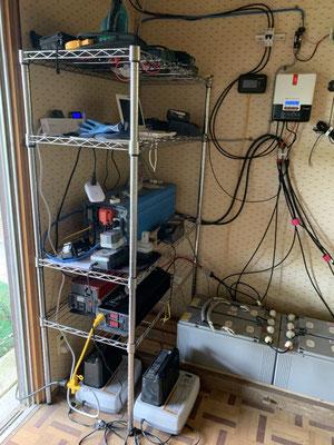 非常用電源になった再生鉛蓄電池給電システム