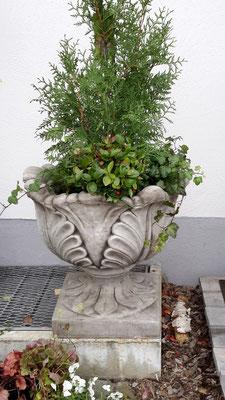 wunderschöne riesige Vase sehr schwer.