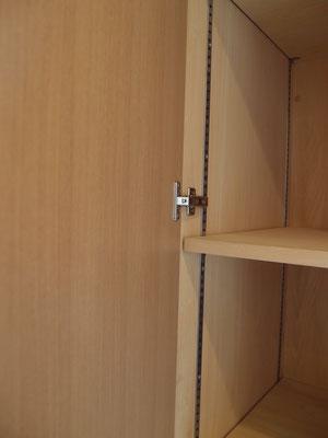 タモ シナ 可動棚 オーダー家具 パントリー