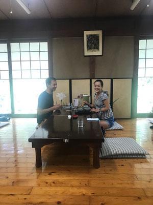 Mittagessen in Aso
