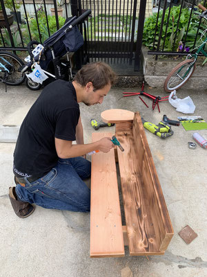 Making a Bench