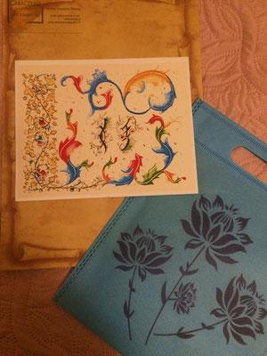 Tirage photo d'art, FARANDOLE NUSHU 4 exemplaires. Envoyé dans sa pochette cadeau en lettre suivie.