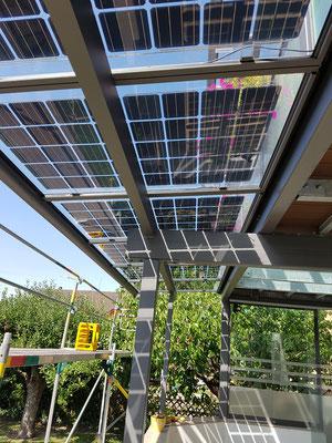 Solar-Terrassenüberdachung