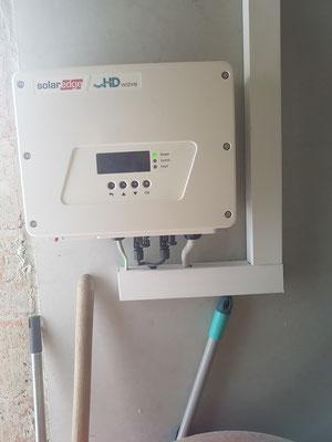 Solaredge-Wechselrichter für Moduloptimierungen