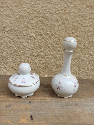 Set de tocador porcelana