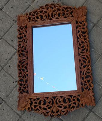 Espejo tailandés madera