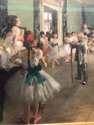 Visite privée Musée d'Orsay Degas Danseuses