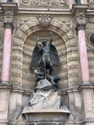 Visite place saint michel
