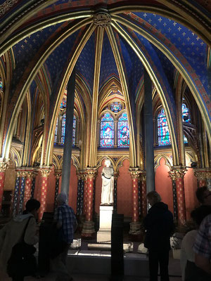 Sainte chapelle Paris visite privée