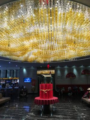 schicke Lobby im Hotel Boss