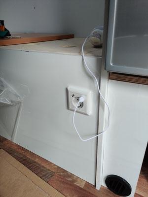 Steckdose mit USB-Anschlüssen