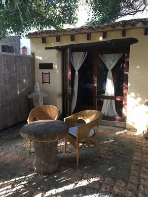 unser schönes Guesthouse Casa Tomaren