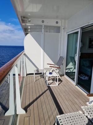 Mein Schiff 6 Junior Suite 10071 Balkon