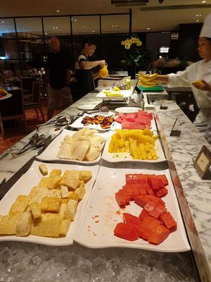 Mandarin Oriental Singapur Melt Frühstück