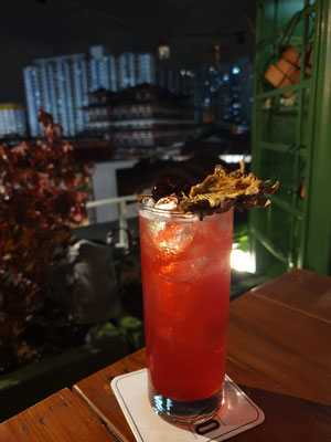 Oxwell & Co Rooftop Bar Singapur