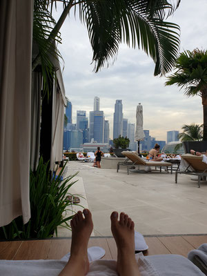 Mandarin Oriental Singapur Pool