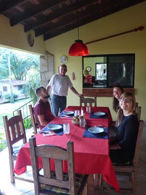 Im Hauseigenen Restaurant