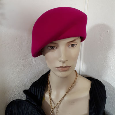 Wool felt, Wollfilz, asymmetrical cap, €98 all colours